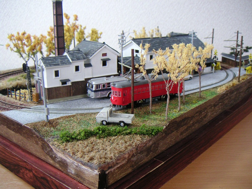 鉄道模型部屋 鉄道模型模型部屋 名称 番付 全体像 小さな無人駅 幕下 小金電気鉄道 幕下 トッ