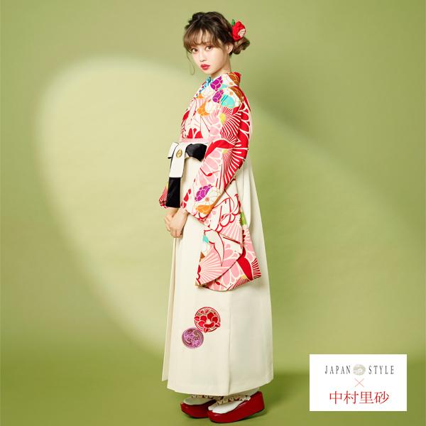 袴|No.100-158|中村理沙|着物も袴も中村理沙