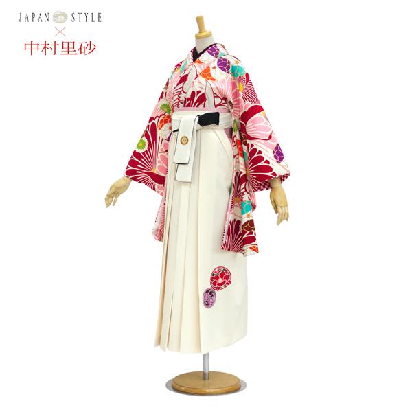 袴レンタル|卒業式|着物も袴も中村理沙|No.100-158